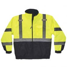 Glowear 8377 Type R Class 3 Quilted Bomber Jacket XL Lime (1 Each)