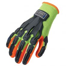Proflex 921 Thermal Rubber-Dipped Dorsal Impact-Reducing Glove S Lime (1 Pair)