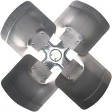 REVCOR R43003 Galvanized Revcor Fan Blade 4 Blade, 30 in DIA, CW, KH/KC, Hub on Discharge