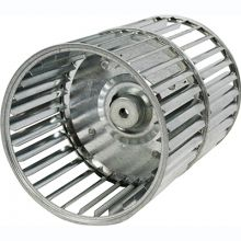 REVCOR RBW90200 Revcor Double Inlet Blower Wheel, 9 1/2 in. DIA., 1/2 Bore, CW, Tab Lock