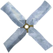 REVCOR R44801 Galvanized Revcor Fan Blade, 4 Blade, 48 in. DIA., CW, KH/KC Fan, Hubless
