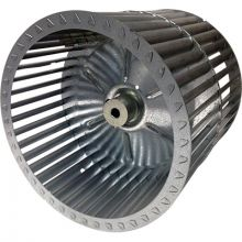 REVCOR RBW90211 Revcor Double Inlet Blower Wheel, 9 7/8 in. DIA., 1/2 Bore, CCW, Tab Lock