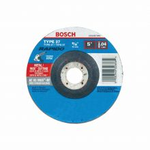 BOSCH TCW27S500 5 x .040 x 7/8 Type 27 Thin Cutting Disc AS60INOX-BF for Stainless/Metal  (Bulk)