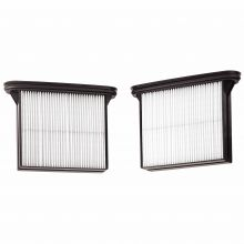 BOSCH VAC012 Air Filters for 3931-Series Vacuum Cleaners (Pack of 2)