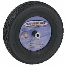"Jackson Professional Tools FFTKBCC Jackson Knobby Flat Freetire (Mounted On 8"" Whl)"