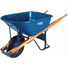 Jackson Professional Tools M6FFBB Wheelbarrow 6 Cu Ft Steel Flat Free Wheel