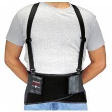 Allegro 7160-04 X-Large Black Bodybelt Back Support W/Non-Remov