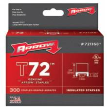 """Arrow Fastener 721168 T72 Insulated Stable 13/64""""X31/64"""""""