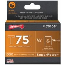 Arrow Fastener 7510S T75 5/8Ul Staple