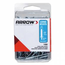 Arrow Fastener RLST1/8 (15/Pc) Long 1/8 Stainless Rivet