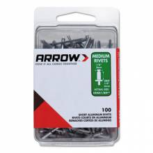 Arrow Fastener RMA3/16IP (50/Pc) Medium 3/16 Aluminum Rivet
