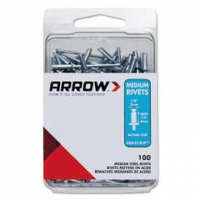 Arrow Fastener RMS1/8IP (100/Pc) Medium 1/8 Steel Rivet