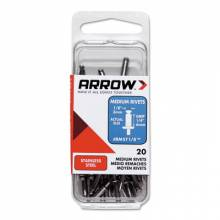 Arrow Fastener RMST5/32 Medium 5/32 Stainless Rivet (10 PK)