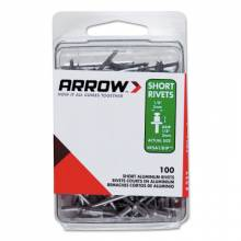 Arrow Fastener RSA3/16IP (50/Pc) Short 3/16 Aluminum Rivet (1 PK)