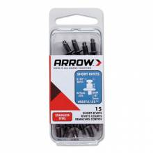 Arrow Fastener RSST5/32 (15/Pc) Short 5/32 Stainless Rivet