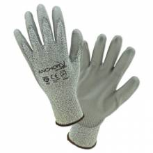 Anchor Brand 6060-L Anchor Peppered Hppe 13Ga Gray Pu Coated Lrg (12 PR)