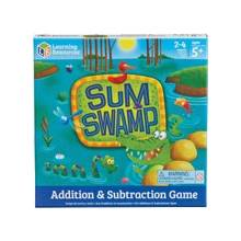 Learning Resources Sum Swamp Addition & Subtraction Game - Educational - 2 to 4 Players