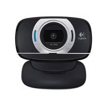 Logitech C615 Webcam - 2 Megapixel - 30 fps - Black - USB 2.0 - 1 Pack(s) - 8 Megapixel Interpolated - 1920 x 1080 Video - Auto-focus - Widescreen - Microphone
