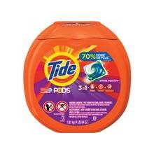 Tide Detergent Pods - Spring Meadow Scent - 72 / Pack - Blue