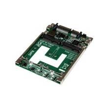 "StarTech.com Dual mSATA SSD to 2.5"" SATA RAID Adapter Converter - Serial ATA/600 Controller - SATA/600 - 0, 1, Concatenation, JBOD RAID Levels Internal"