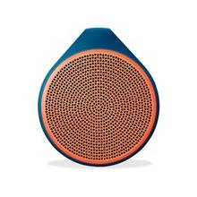 Logitech X100 Speaker System - Battery Rechargeable - Wireless Speaker(s) - Orange - 30 ft - Bluetooth - USB