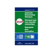 Cascade Powder Dishwasher Detergent - 75 oz (4.69 lb) - Fresh Scent - 1 Each - White
