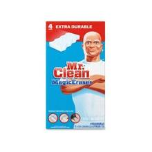 Mr. Clean Magic Eraser Extra Durable Cleaning Pads - Sponge - 32 / Carton - White