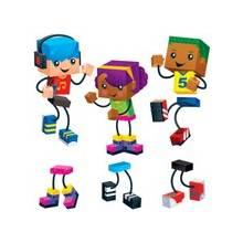 "Trend Blockstar Classic Accent Set - Fun Theme/Subject - 18 Children - Precut, Durable, Reusable - 5.50"" Height - Multicolor - 48 / Pack"