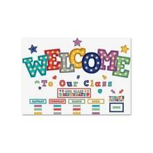 Teacher Created Resources Marquee Welcome Decorative Set - Marquee Welcome - Multicolor - 5 / Set