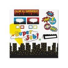 Teacher Created Resources Superhero Decorative Set - Multicolor - 5 / Set