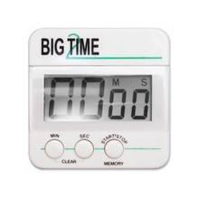 Ashley Big Time Digital Timer - Desktop - For Sports - White, Black