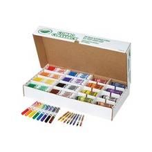 Crayola Crayon/Marker Set - Assorted Ink - Assorted Wax - 256 / Carton