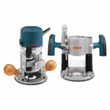 Bosch Power Tools 1617EVSPK 2 Hp Plunge/Fixed Basevs Router Combo Kit