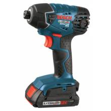 Bosch Power Tools 25618-02 18.0 Vt Litheon Impact Driver W 2 Slim Pack Batt