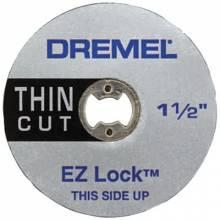 Dremel EZ409 Ez Lock Thin Cut Wheels(5 Pcs.) (1 PK)