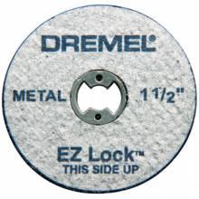 Dremel EZ456 Ez Lock Metal Cut-Off Wheels (5 Pcs.)