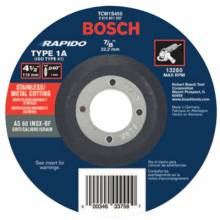 Rotozip TCW1S450 4-1/2X.040X7/ 8 Tp1 Thin Cutting Disc (Bx/25) (1 EA)