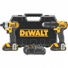Dewalt DCK280C2 20V Max Li-Ion Compact Drill & Impact Combo Kit