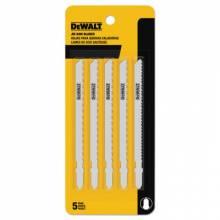 """Dewalt DW3755-5 4"""" 8Tpi Alum/Fiberglasscut Cobalt T-S J-Saw Bld (25 EA)"""
