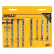 Dewalt DW3790 8-Pc. Cobalt Steel U-Sha (1 SET)