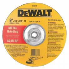 "Dewalt DW8448 9""X1/4""X5/8""X11 Gen Purpose Metal Grind Wheel (10 EA)"