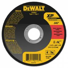 """Dewalt DW8851 4-1/2"""" X .045"""" X 7/8"""" Xpmetal/Stainless Cutting"""