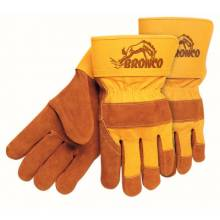 "Memphis Glove 1680 Bronco Side Leather Palmgloves 2-1/2"" Safe (1 PR)"
