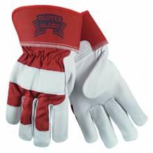 "Memphis Glove 1940L Kid Goat Leather Palm2-1/2"" Safety Cuff Large (1 PR)"