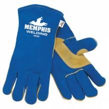Memphis Glove 4500 Blue Sel Lea Wldrs (12 PR)
