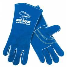 """Memphis Glove 4600 13"""" Blue Beast Welders Gloves Reinforced (1 PR)"""