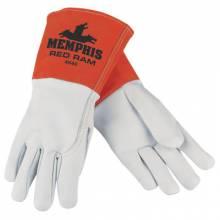 Memphis Glove 4840M Medium Red Ram Grain Goatskin Mig/Tig Glove (12 PR)