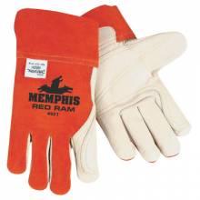 Memphis Glove 4921XL Double Palm Grain Migtigxl (12 PR)