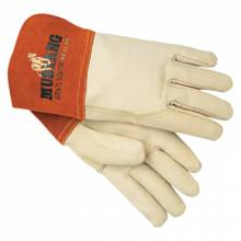 Memphis Glove 4950M Grain Leather Gauntlet Cuff Sewn W/Kevl (1 PR)