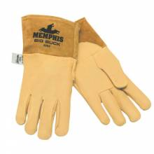 Memphis Glove 4984L Grain Deerskin Mig/Tig Welder- Sewn W/Kevlar (12 PR)